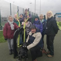 Make new friends and keep fit with walking group