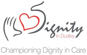 Dignity in Dudley Championing Care Logo