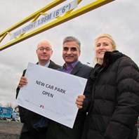 Boost for traders and shoppers at local car park