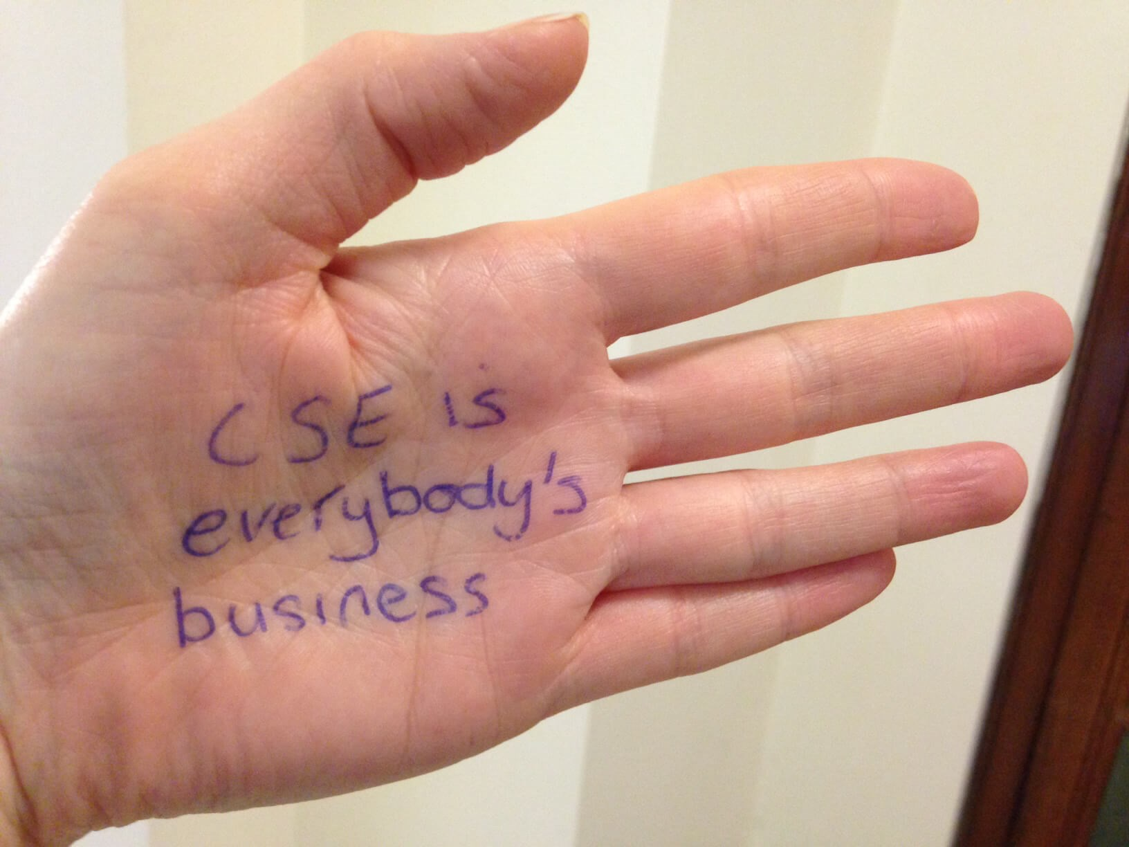 Pledge to stop abuse on CSE awareness day