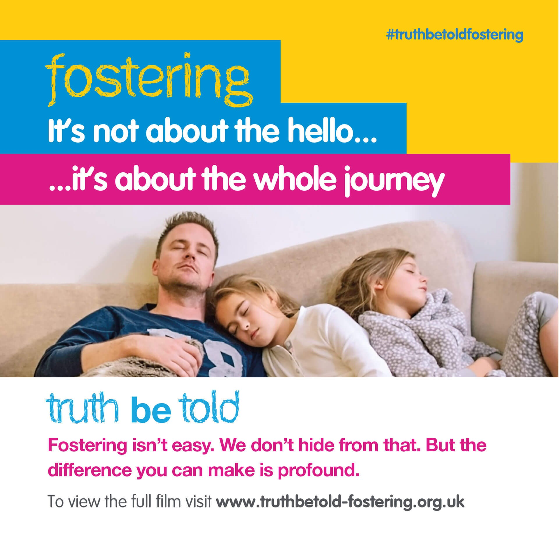 Fostering, it's not about the hello, it's about the whole journey