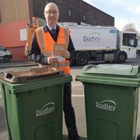 Extra green bins available for garden waste