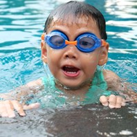 Free swimming for kids starts again next week