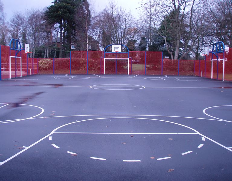 King George V Park Wordsley - Multi use games area