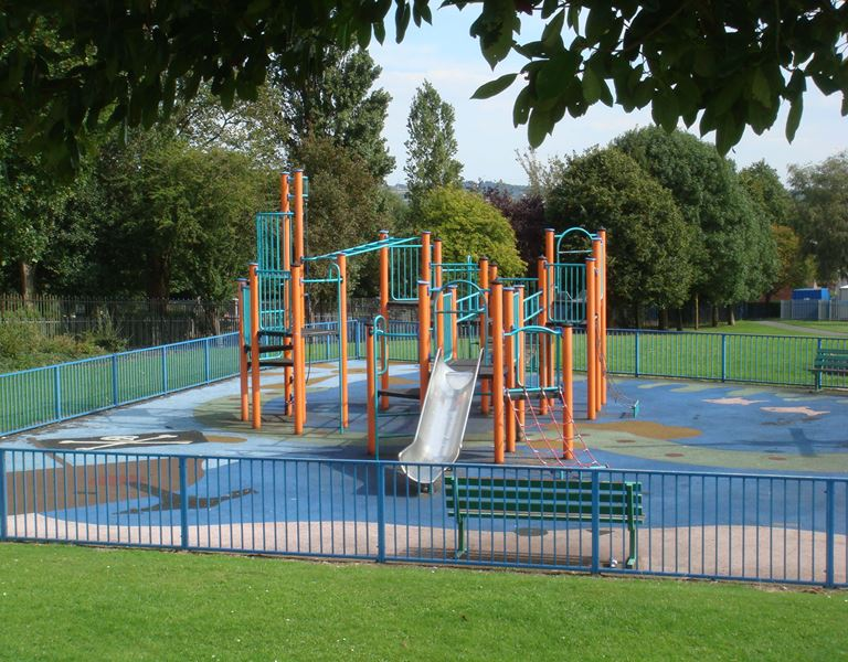 photo of homer hill park play area