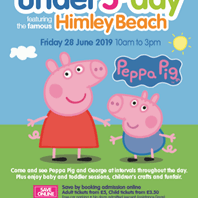 Peppa set to shine at Under 5s Day