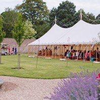 Glamping glamour for Himley brides