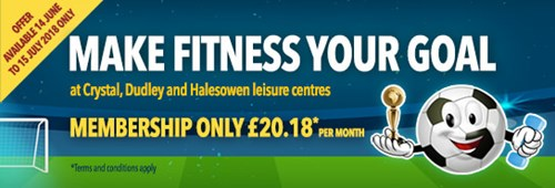 Word Cup membership offer at leisure centres