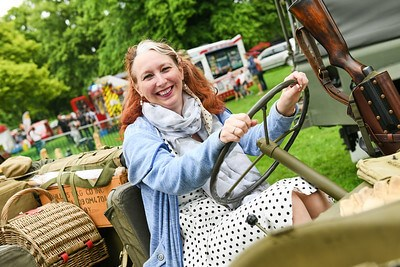Full steam ahead at Himley Hall