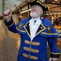 Town crier rings the bells for Dudley