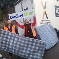 "Work to topple ""mattress mountain"" in borough up for award"