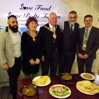 Basil part of healthy menu for award-winning Balti Towers