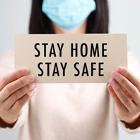 Stay at home - and save lives