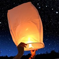 Don't let off sky lanterns plea