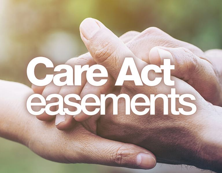care act easements
