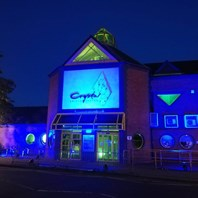 Crystal Leisure Centre lit up to mark efforts of carers and key workers