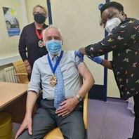 Mayor urges people to get the flu jab