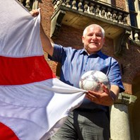Dudley flies the flag as World Cup fever grips