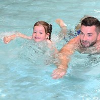 Free swimming a big hit with kids