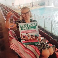 Free summer swimming for kids in Dudley