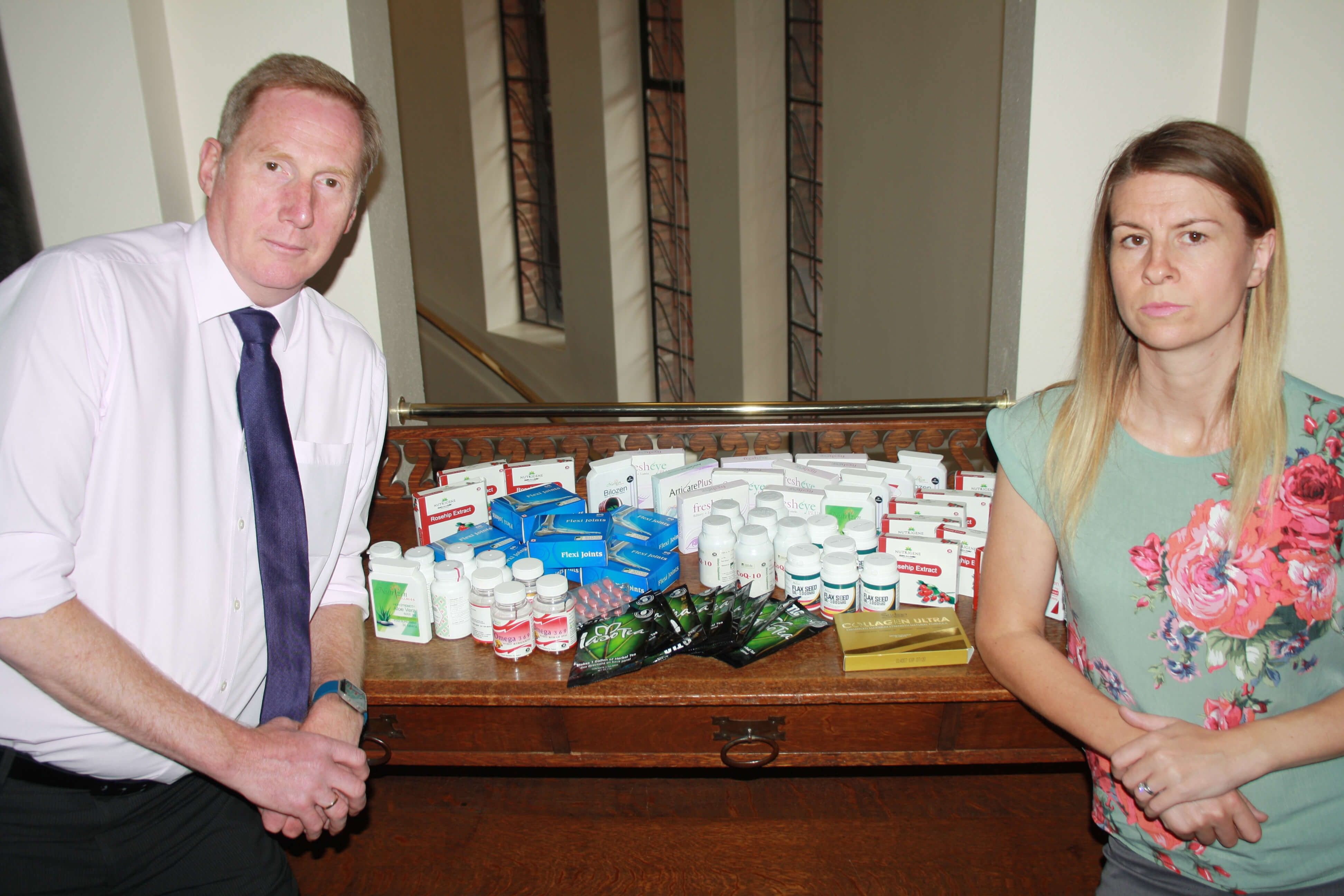 Trading standards boss warns about dangers of buying vitamins