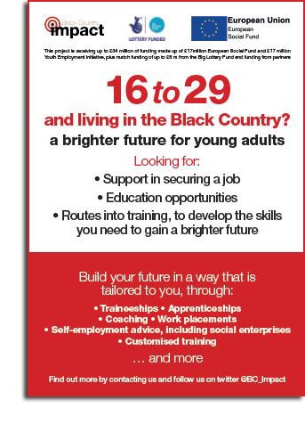 Black Country Impact flyer