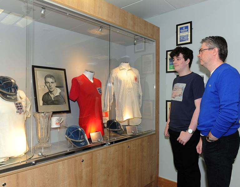Duncan Edwards collection at Dudley Museum