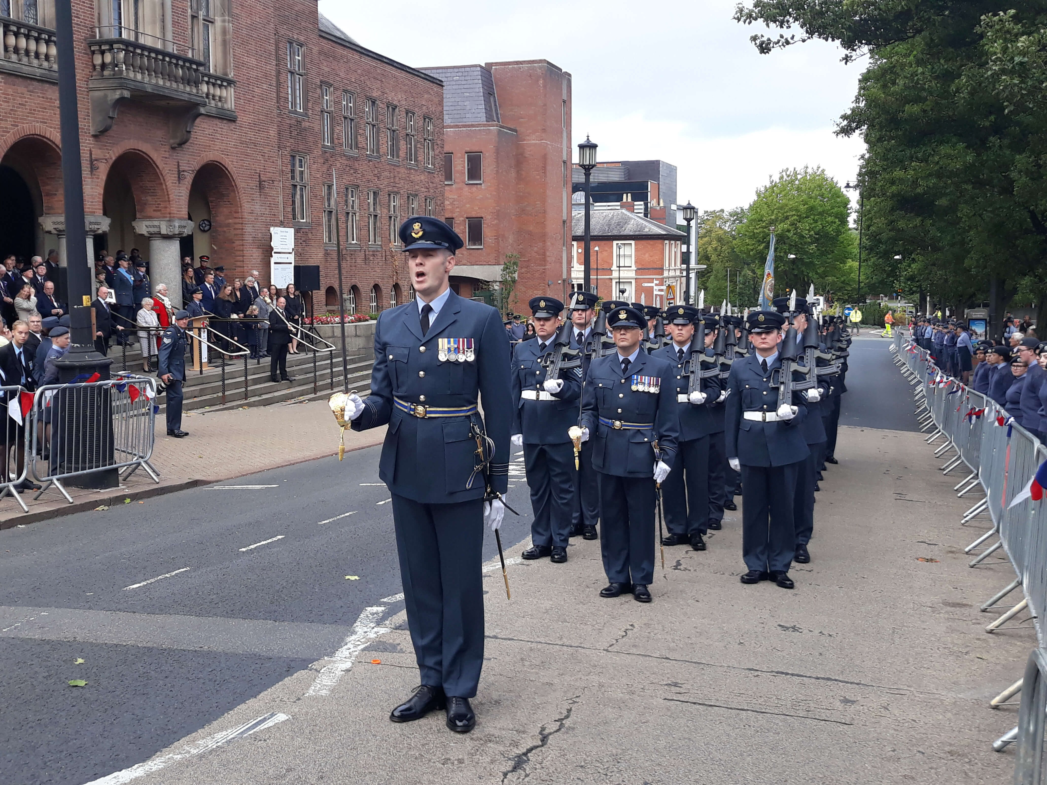 RAF Cosford receives Freedom of Dudley Borough at special ceremony