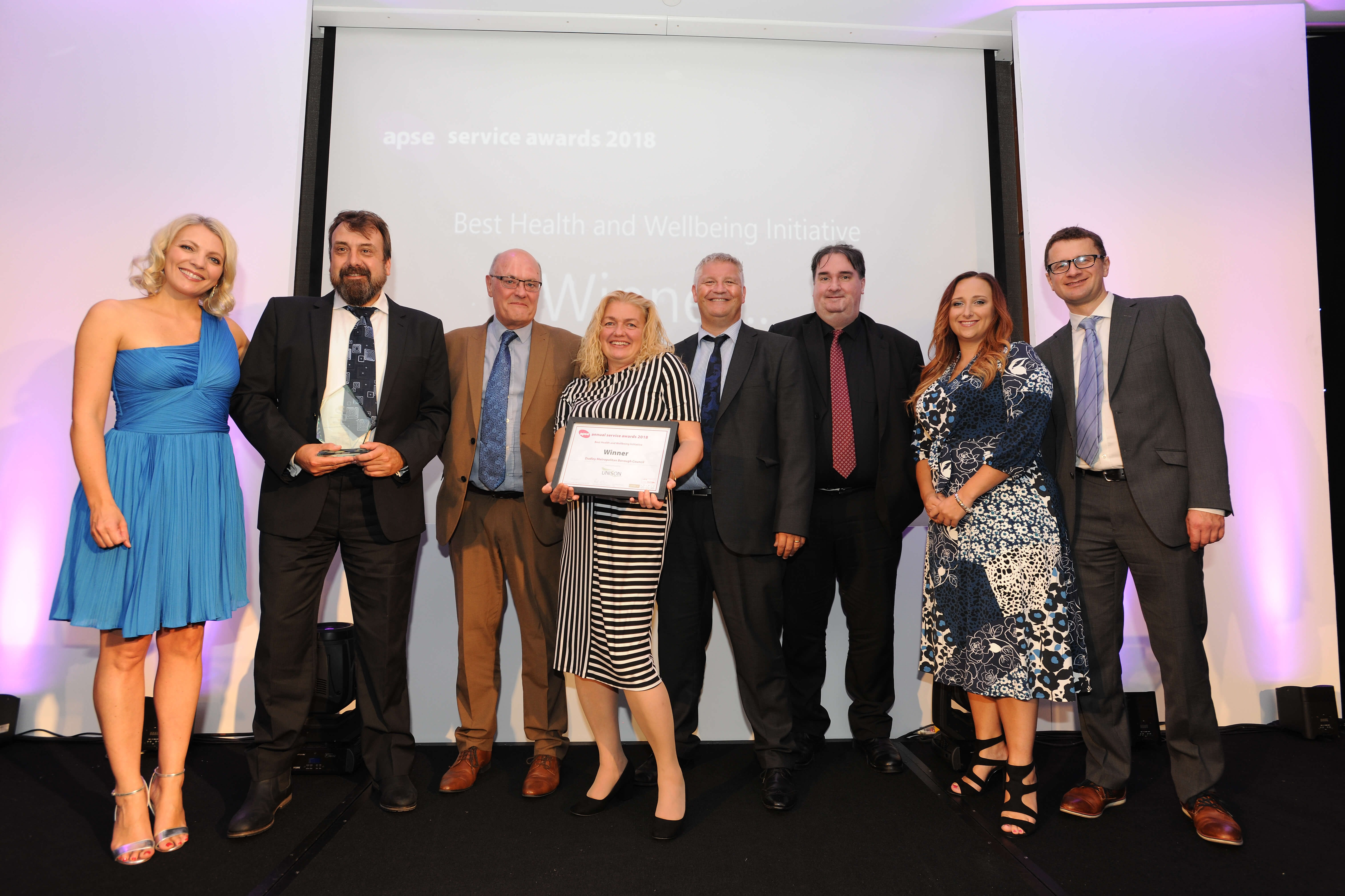 Housing team scoops national award