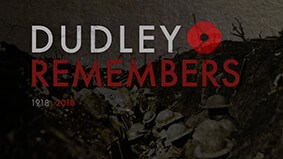 Remembrance Service in Dudley town centre