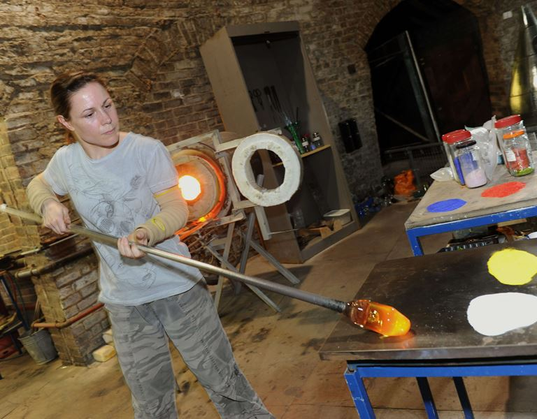 Glassblower Marver