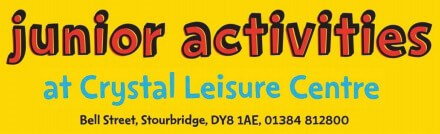 Junior activities at Crystal Leisure Centre artwork