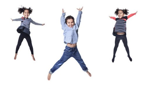 picture of children jumping
