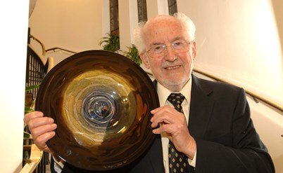 Geoff with his Civic Award in 2009