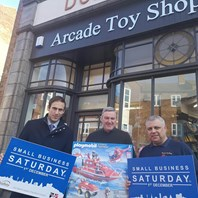 Buy local call on Small Business Saturday